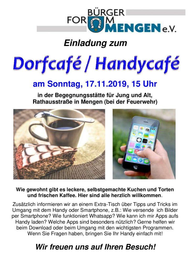 Handy Café @ Begegnungsstätte Mengen | Schallstadt | Baden-Württemberg | Deutschland