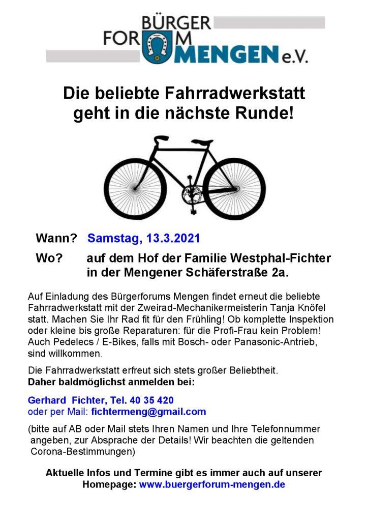 Sechzehnte Mobile Fahrradwerkstatt @ Fam. Westphal-Fichter | Schallstadt | Baden-Württemberg | Deutschland